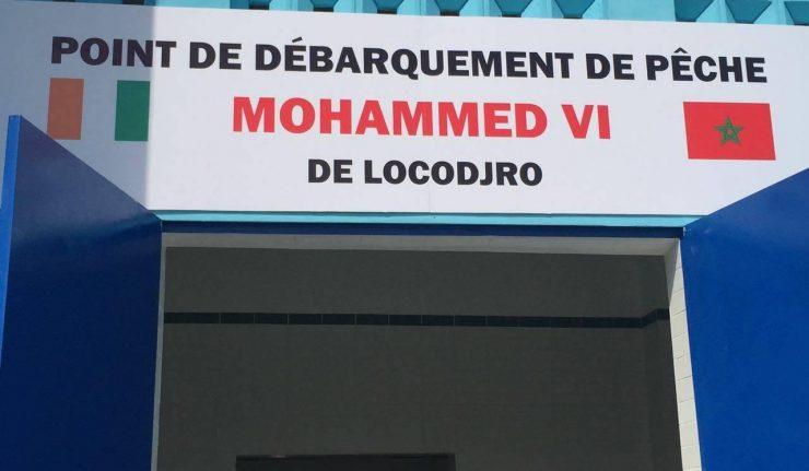 Arrivée du roi Mohammed VI à Abidjan