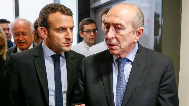 france emmanuel macron accepte la dmission du ministre de lintrieur