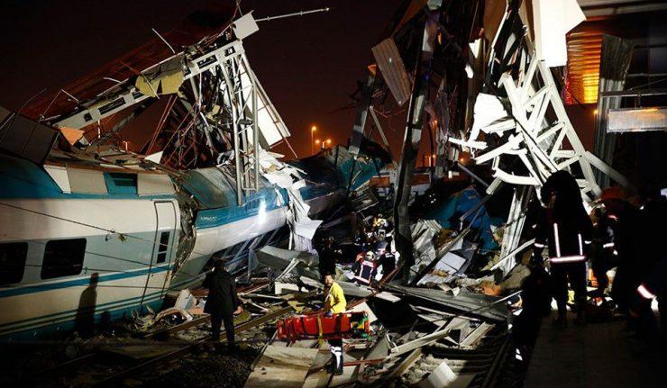 Turquie: au moins sept morts dans un accident de train à Ankara