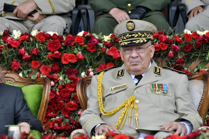 Le Général de Corps d'Armée et vice-ministre de la Défense nationale, Gaid Saleh, homme fort de l'Algérie
