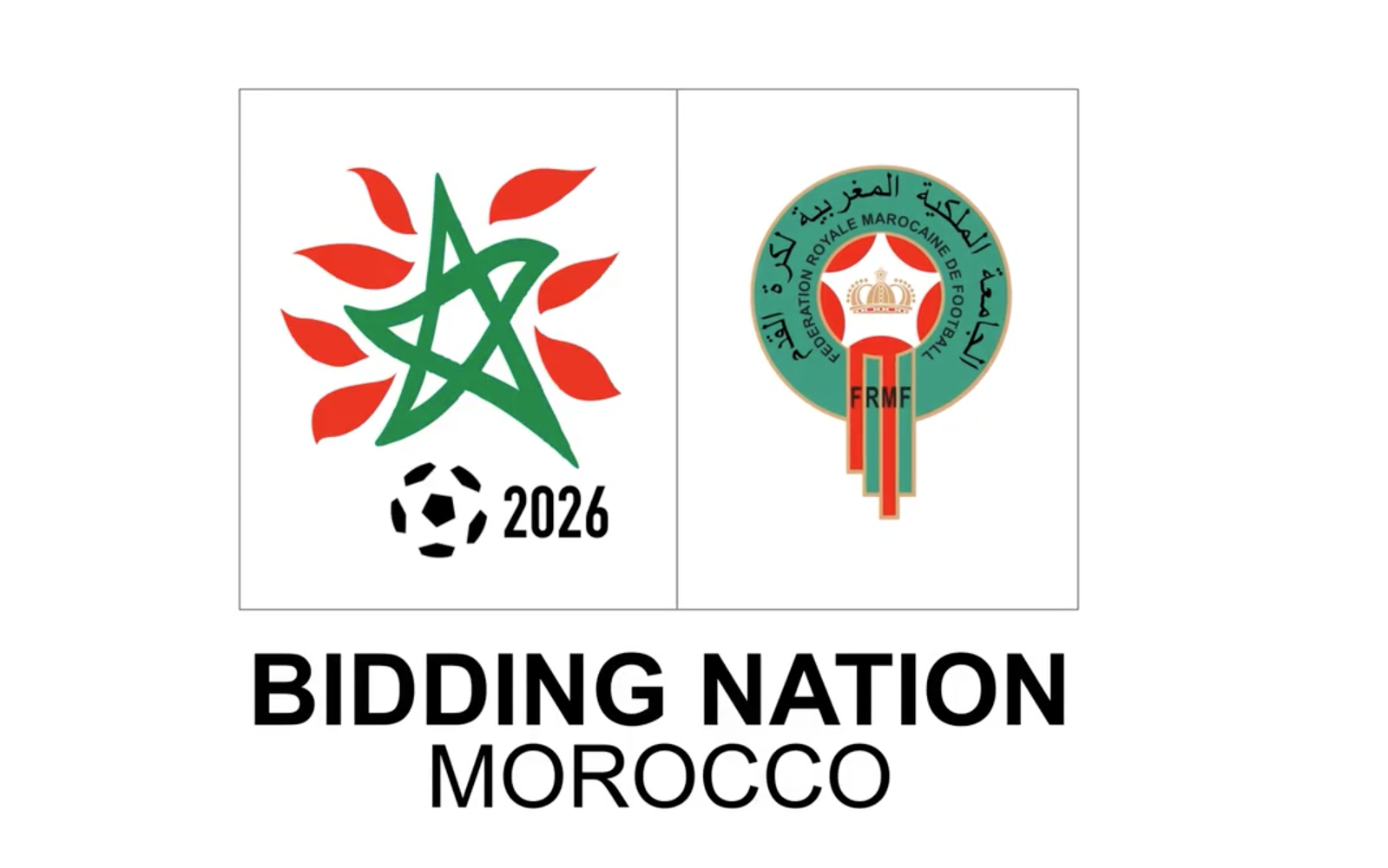 Morocco Unveils Its 2026 World Cup Bid Logo Video Article19 Ma  # Maroc New Tv