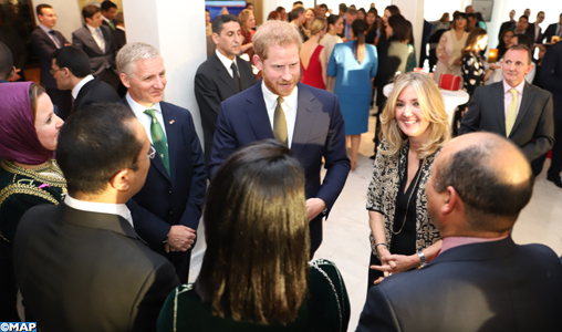 Prince Harry and his Spouse Meet in Rabat with Moroccan Women Entrepreneurs  and Athletes with Special Needs 076ad1dcbc8